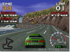 Ridge Racer 64 – Get ready to race http://www.n64-roms.com/ridge-racer-64-get-ready-to-race/