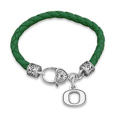 NCAAM FINAL FOUR!  Oregon Ducks Leather Bracelet with Round Logo and Lobster... https://www.amazon.com/dp/B06WGPFHPT/ref=cm_sw_r_pi_dp_x_hPT2ybFQXS54X