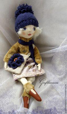 """Коллекционные куклы ручной работы. Ярмарка Мастеров - ручная работа Кукла """"Ксюша"""". Handmade."""