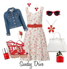 Sunday Drive, created by funnygr on Polyvore