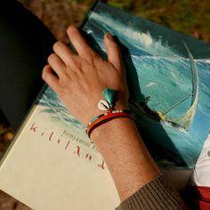 Bracelet MANCHETTE, CUIR et COTON TISSÉ bracelet FEMME , Bracelet BRELOQUES, Bracelet BOHO, Bracelet ETHNIQUE RÉGLABLE, Bracelet MULTICOLORE
