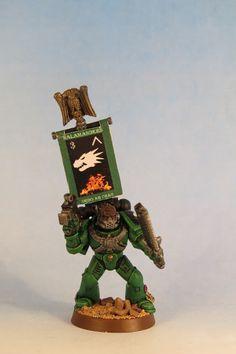Warhammer 40k - Space Marines - Devastator Sergeant
