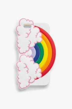 Rainbow phone case - Rainbow - Home & gifts - Monki FR