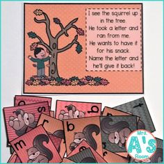 These fall circle time activities for preschool and kindergarten will give you lots of ideas for usi Circle Time Games, Circle Time Activities, Fall Preschool Activities, Calendar Activities, Circle Game, Alphabet Activities, Preschool Kindergarten, Preschool Alphabet, Tree Study