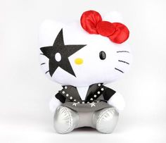 "KISS x Hello Kitty 5.5"" Plush: Starchild"
