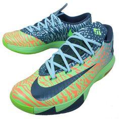 Good Nike Men\\u0026#39;s KD VI, LIGER-ELECTRIC GREEN