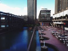 #NYU #London | The Barbican, the largest public housing complex in central London.