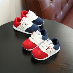 First Walkers Mother & Kids Spirited Baby Boys Fashion Sports Shoes Kids Casual Black White Classic Prewalker Anti-slip First Walker Kids Infant Toddler Cool Sneaker