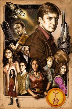 Firefly! Awesome fan poster of the whole crew