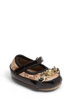 MICHAEL Michael Kors 'Grace' Flat (Baby) | Nordstrom...baby shoes