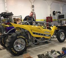 Yamaha buggy after changing the body design and adjusting it more smoothly and length
