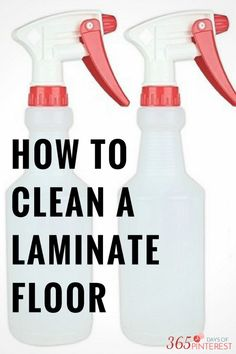It can be a little confusing to know how to clean wood laminate floors…