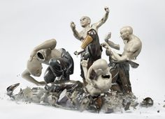 Bringing Ceramic Sculptures to Life by Smashing Them to Pieces | Raw File | WIRED
