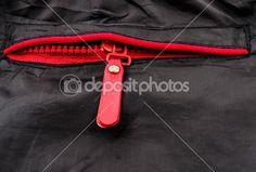 items van kleding knoppen, gespen en ritsen. Foto close-up — Stockbeeld #22955650