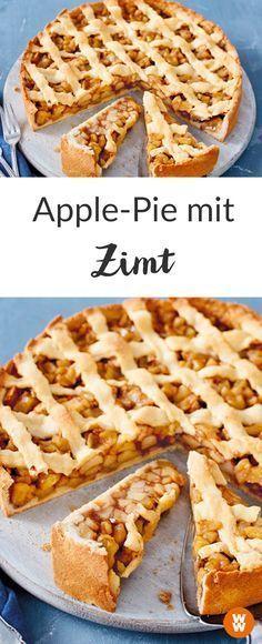 Apple-Pie mit Zimt I Weight Watchers Kuchen I Kuchenrezept I Apfelkuchen I Weight Watchers