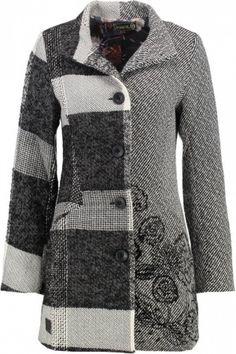 Dames Winterjassen - Desigual ABRIG IBIZA Winterjas gris vigore claro