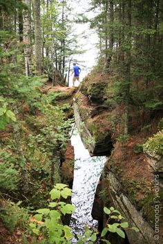 A day on the Apostle Islands National Lakeshore, Lakeshore Trail