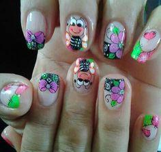Natural Acrylic Nails, Galaxy Nails, Toe Nail Designs, Toe Nails, Nail Tips, Pedicure, Hair And Nails, Make Up, Nail Art