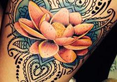 Significado de los tatuajes de la flor de loto