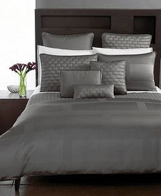 "Hotel Collection ""Frame\"" Duvet Cover, Queen $270"