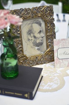 Presidents instead of table numbers - such a clever idea, especially for weddings taking place in Washington D.C.