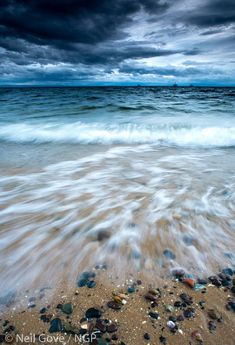 Largo Beach in Fife, Scotland