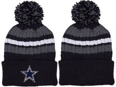d9d70218e Dallas Cowboys 2017 Winter NFL Fashion Beanie Knit hat(navy Logo) Dallas  Cowboys Shoes