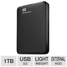 Buy the WD Elements 1 TB Portable External Hard Drive for Rs 2999 at Paytm + More great Deals #Paytm #HardDisk #Cashback #Shopping #india #Coupon #Deals #Offers
