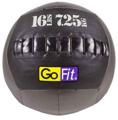 GoFit CrossFit-style Vinyl Medicine Ball - 16lbs, $80. For CrossFit workouts, such as wall balls and ball slams. Any of this type.