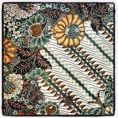 Motif Batik Making Yogyakarta - Graha Batik Ethnic Patterns, Textile Patterns, Textile Design, Shibori, Batik Kebaya, Batik Dress, Batik Solo, Indonesian Art, Batik Art