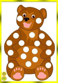 Очень Важный Канал для детей и их родителей's photos Do A Dot, Autumn Activities For Kids, Montessori Materials, Matching Games, English Lessons, Brown Bear, Scooby Doo, Diy And Crafts, Preschool