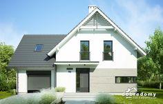 Lenka - Dobre Domy Flak & Abramowicz Moise, Garage Doors, Shed, Floor Plans, Outdoor Structures, Flooring, Outdoor Decor, House Architecture, Home Decor