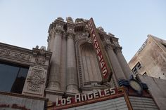 """ Los Angeles Theater "" in Broadway L.A. California  Route 66 on My Mind "" Route 66 blog ; http://2441.blog54.fc2.com https://www.facebook.com/groups/529713950495809/ http://route66jp.info"