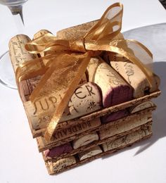 Wine Cork Coasters Set of 4 Wine Cork Crafts by MaxplanationPhotos, $6.75