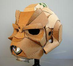 Cardboard Project Darkside Jedi Helmet