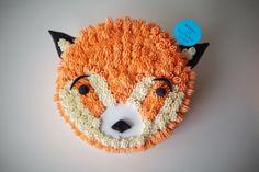 Red Panda Cake