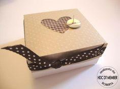Hobby di Carta - Il blog: Scatola porta confetti