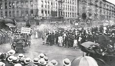 """The new negro hast no fear"": Eine Parade in Harlem im Jahr 1924. - © wordpress"