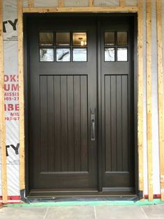 Here is a sampling of our hand made Single Entry Doors. More designs are available and we can also help create your own custom design. Exterior Doors, Entry Doors, Wood Doors, Garage Doors, Toronto Architecture, Doors Galore, Mahogany Stain, New Construction, Curb Appeal