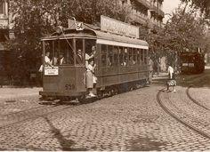 1930: Tranvía de Barcelona. / 1930: Barcelona´s trolley car.