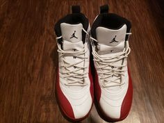 reputable site 10d84 b775c 2009 Nike Air Jordan 12 XII Retro Cherry Size 14 1 2 3 4 Condition is  Pre-owned but still clean.