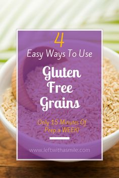 This hack has been amazing for helping me eat healthier and gluten free.