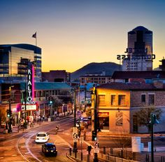 Downtown Tucson, Arizona.  Growing and Changing with loads of new things to explore.  Exciting!