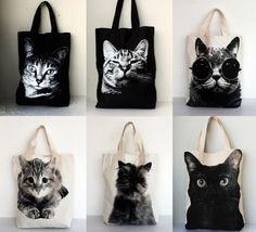 Sac chat. Tote bag. #cat #style