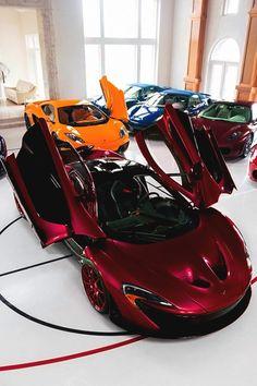"italian-luxury: ""Red McLaren P1 | Italian-Luxury | Instagram """