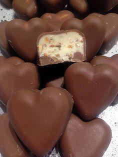 """Recette de Chocolats fourrés façon """"schoco-bons"""""""