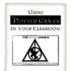 FREE Lesson integrating technology, reading, Harry Potter, & The Hunger games: The Potter Games (www.thepottergames.com)