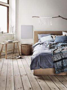 Sfeervolle slaapkamer inrichting | Fabric | Pinterest | Bedroom ...