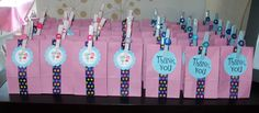 Lalaloopsy birthday party favor/gift bags