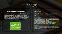 Print Professional Business Cards - Chameleon Print Group - Australia  http://chameleonprint.com.au/business-cards/